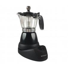 BEPER BC040N elektrický Moka kávovar, 3 šálky, 400W