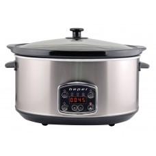 BEPER BC510 hrnec pro pomalé vaření 4,5l, berez, digi 280W