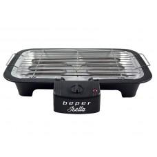 BEPER BT410 elektrický BBQ gril 37x21cm, 2000W