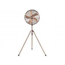 BEPER VE119 stojanový kovový ventilátor RETRO, 50W (průměr 40 cm)